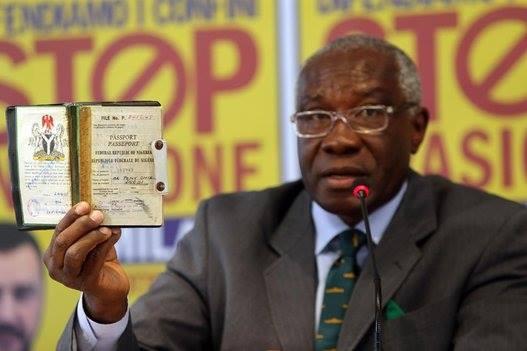 ll mio passaporto nigeriano - 2014